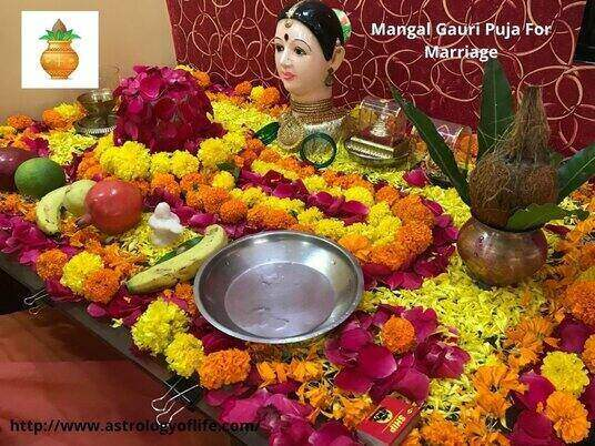 Mangal Gauri Puja For Marriage