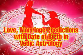 Free Marriage age prediction using horoscope by date of birth